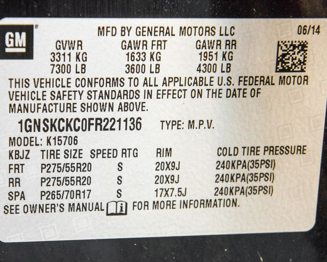 2015 Chevrolet Tahoe LTZ Burbank, CA 44