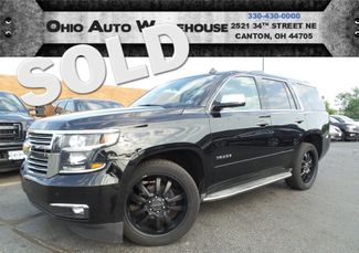 2015 Chevrolet Tahoe LTZ 4x4 Navi Tv/BluRay Sunroof 1-Own We Finance | Canton, Ohio | Ohio Auto Warehouse LLC in  Ohio