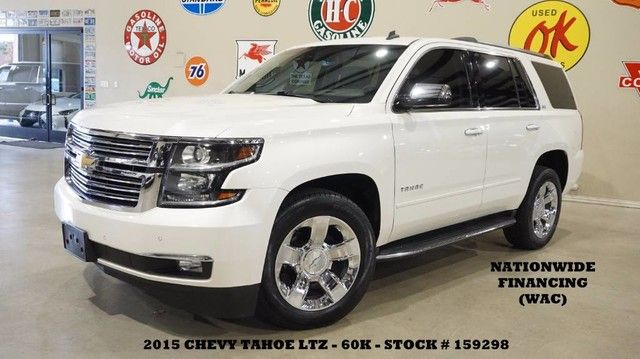 2015 Chevrolet Tahoe LTZ 4X2 ROOF,NAV,BACK-UP,HTD/COOL LTH,QUADS,CHR...
