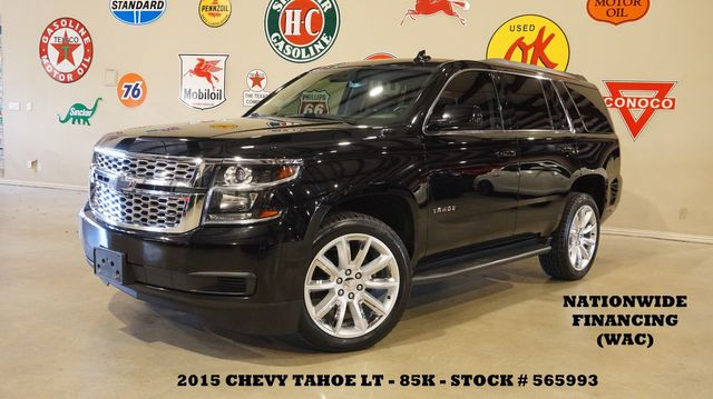 2015 Chevrolet Tahoe LT 4X2 NAV,REAR DVD,HTD LTH,22'S,85K,WE FINANCE in Carrollton, TX 75006
