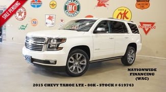 2015 Chevrolet Tahoe LTZ 4X2 SUNROOF,NAV,REAR DVD,QUADS,22'S,80K in Carrollton, TX 75006