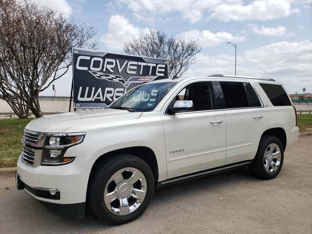 2015 Chevrolet Tahoe LTZ 4WD, NAV, Sunroof, Rear Ent, Chromes 71k