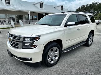 2015 Chevrolet Tahoe LTZ AWD 22 CHROME DVD 3RD ROW CARFAX CERT  Plant City Florida  Bayshore Automotive   in Plant City, Florida