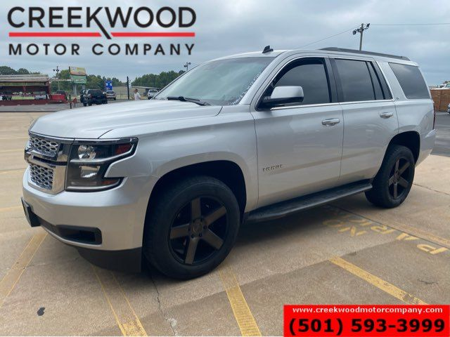 2015 Chevrolet Tahoe LT 4x4 Silver Leather Black 20s New Tires LowMiles