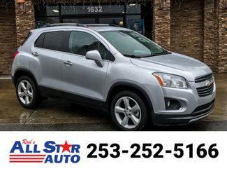 2015 Chevrolet Trax LTZ AWD in Puyallup Washington, 98371