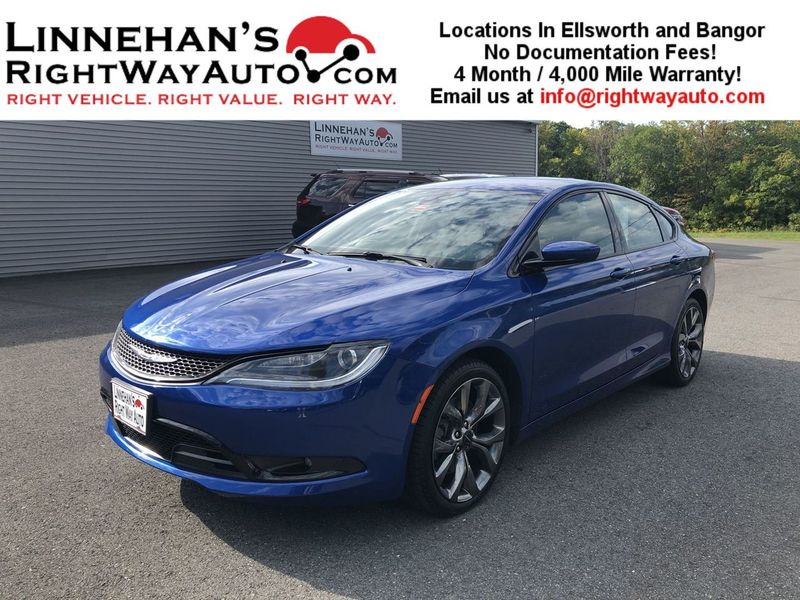 2015 Chrysler 200 S  in Bangor, ME