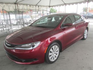 2015 Chrysler 200 LX Gardena, California