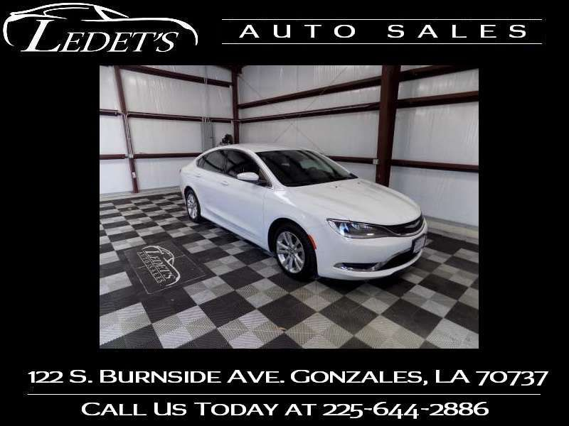 2015 Chrysler 200 Limited - Ledet's Auto Sales Gonzales_state_zip in Gonzales Louisiana