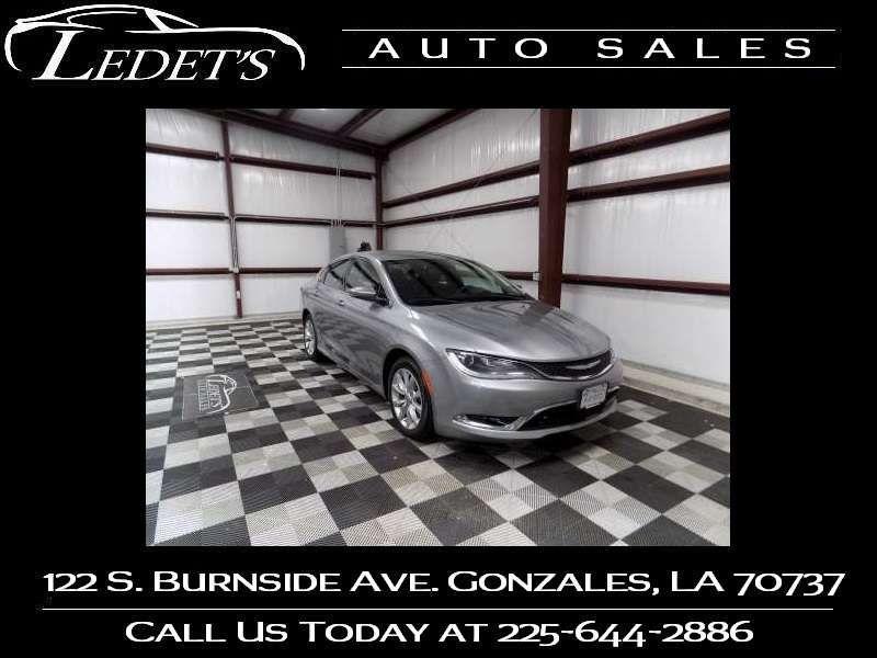 2015 Chrysler 200 C - Ledet's Auto Sales Gonzales_state_zip in Gonzales Louisiana