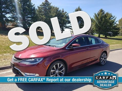 2015 Chrysler 200 4d Sedan C V6 in Great Falls, MT