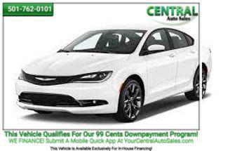 2015 Chrysler 200 S | Hot Springs, AR | Central Auto Sales in Hot Springs AR