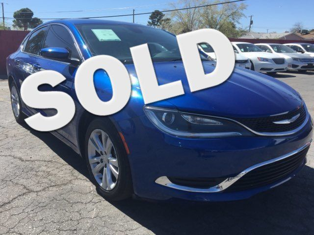 2015 Chrysler 200 Limited AUTOWORLD (702) 452-8488 Las Vegas, Nevada
