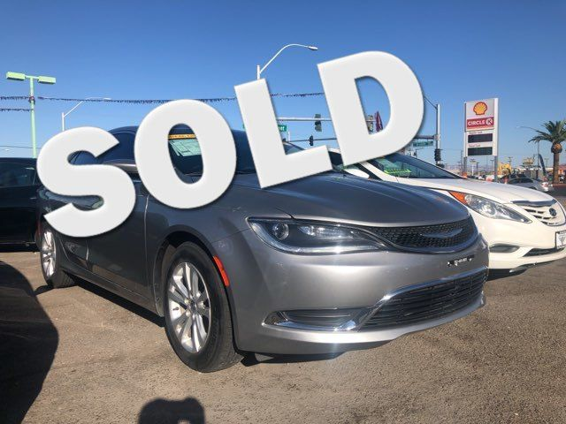 2015 Chrysler 200 Limited CAR PROS AUTO CENTER (702) 405-9905 Las Vegas, Nevada