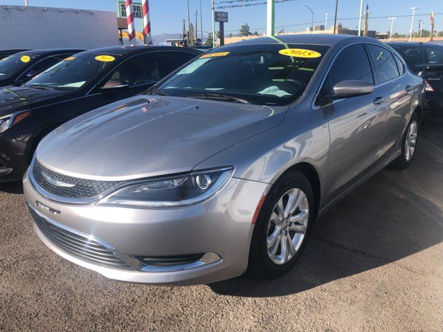 2015 Chrysler 200 Limited CAR PROS AUTO CENTER (702) 405-9905 Las Vegas, Nevada 1