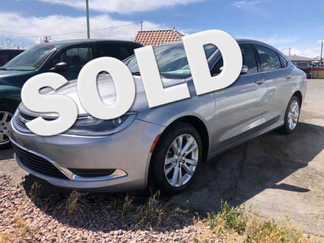 2015 Chrysler 200 Limited CAR PROS AUTO CENTER (702) 405-9905 Las Vegas, Nevada