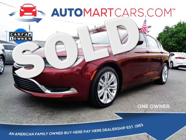 2015 Chrysler 200 Limited   Nashville, Tennessee   Auto Mart Used Cars Inc. in Nashville Tennessee