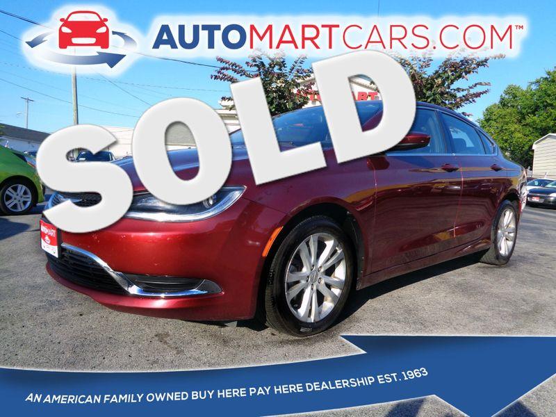 2015 Chrysler 200 Limited | Nashville, Tennessee | Auto Mart Used Cars Inc. in Nashville Tennessee