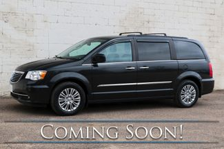 2015 Chrysler Town & Country Touring Luxury Van w/3rd Row Seats, STOW-N-GO Seating, NAV and Dual Bluray/DVD Screens in Eau Claire, Wisconsin 54703