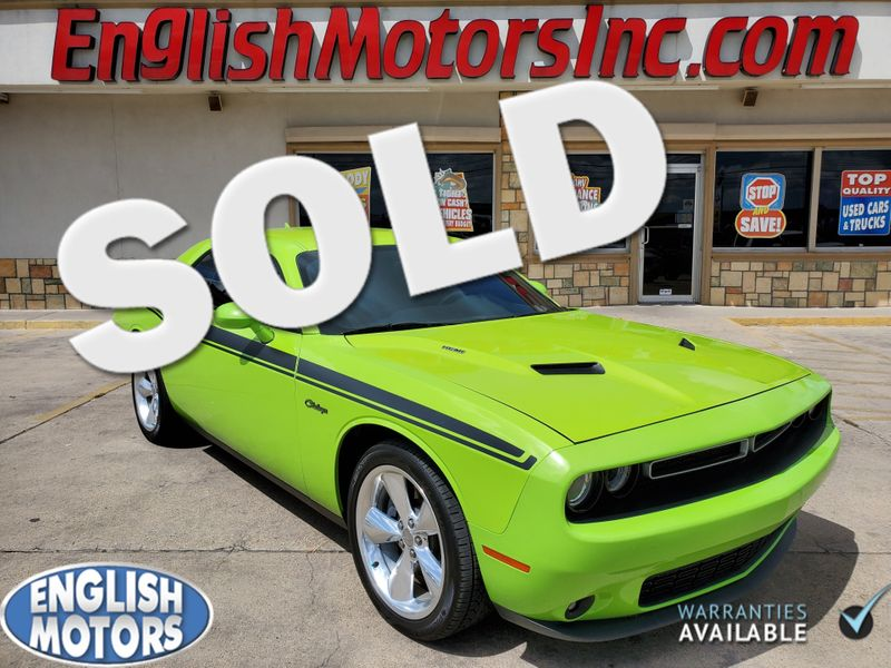 2015 Dodge Challenger RT Plus  Brownsville TX  English Motors  in Brownsville, TX