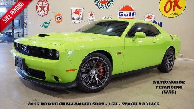 2015 Dodge Challenger SRT 392 AUTO,NAV,BACK-UP,HTD/COOL LTH,15K,WE FI...