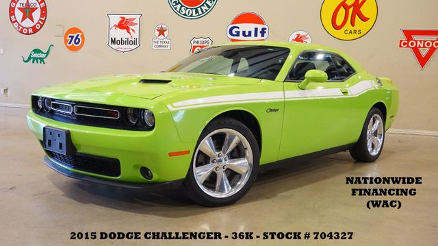 2015 Dodge Challenger R/T Plus AUTO,ROOF,NAV,BACK-UP,HTD/COOL LTH,36K