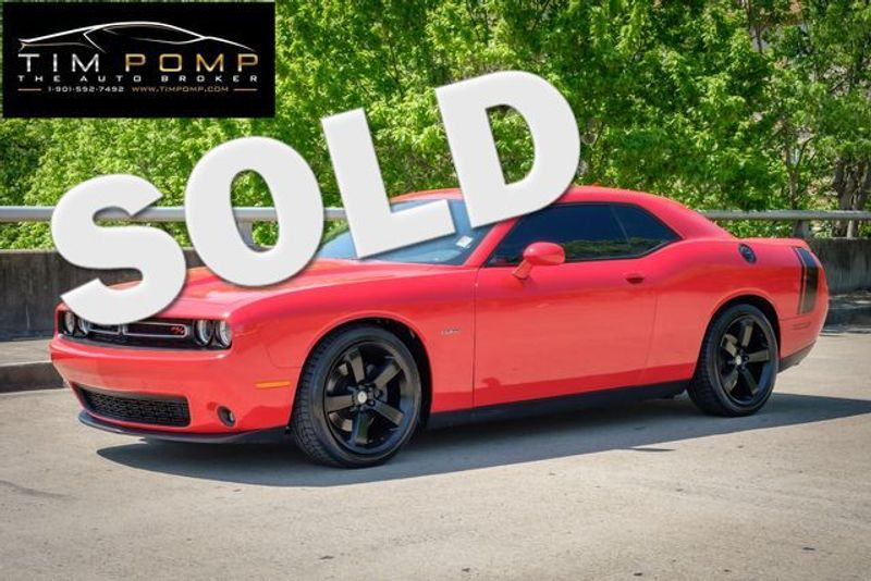 2015 Dodge Challenger R/T Plus | Memphis, Tennessee | Tim Pomp - The Auto Broker in Memphis Tennessee