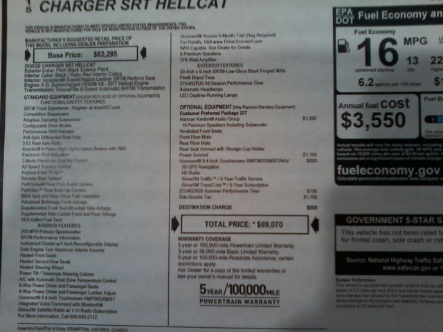 2015 Dodge Charger SRT Hellcat Boerne, Texas 15