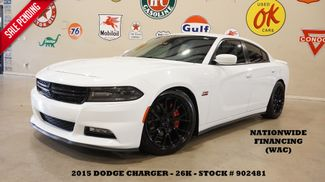 2015 Dodge Charger RT NAV,BACK-UP,HTD/COOL LTH,EXHAUST,BLK 20'S,26K in Carrollton, TX 75006