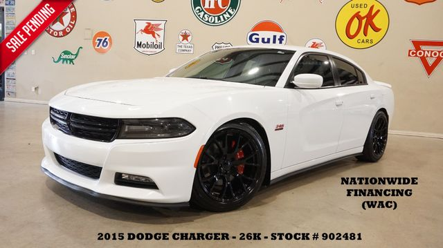 2015 Dodge Charger RT NAV,BACK-UP,HTD/COOL LTH,EXHAUST,BLK 20'S,26K