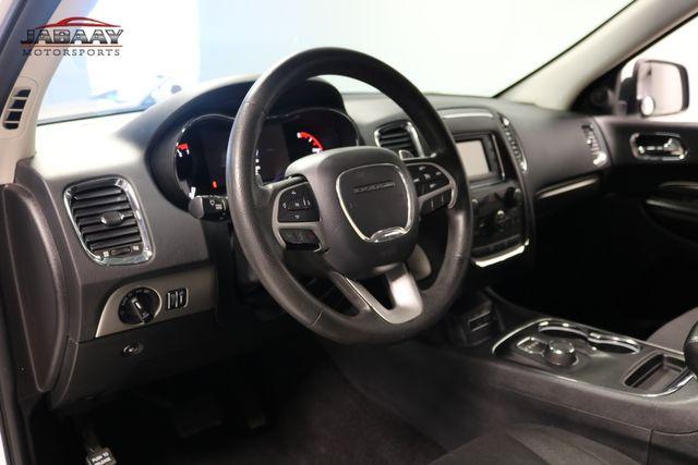 2015 Dodge Durango SXT Merrillville, Indiana 9