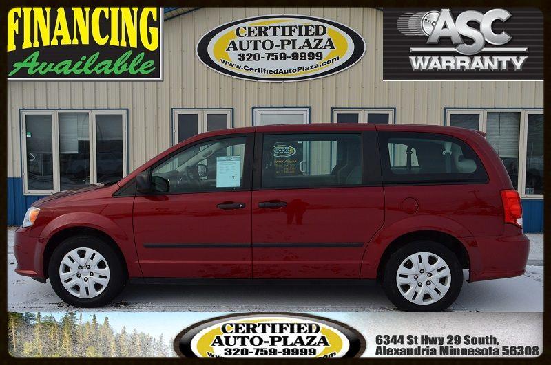2015 Dodge Grand Caravan American Value Pkg in Alexandria Minnesota