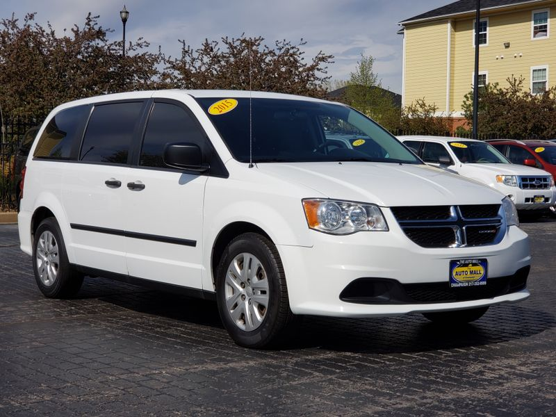 2015 Dodge Grand Caravan American Value Pkg | Champaign, Illinois | The Auto Mall of Champaign in Champaign Illinois