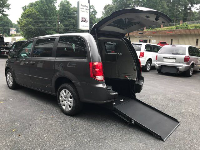2015 Dodge Grand Caravan handicap wheelchair accessible rear entry van