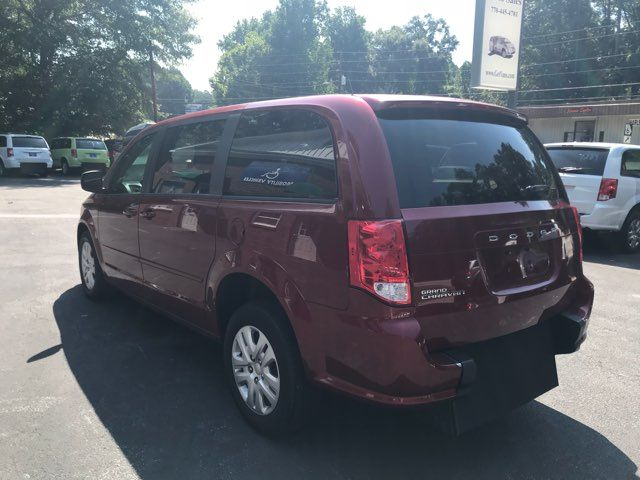2015 Dodge Grand Caravan handicap wheelchair accessible van Dallas, Georgia 8