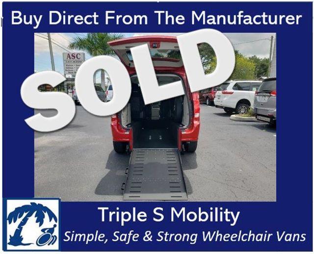 2015 Dodge Grand Caravan Sxt Wheelchair Van Handicap Ramp Van DEPOSIT
