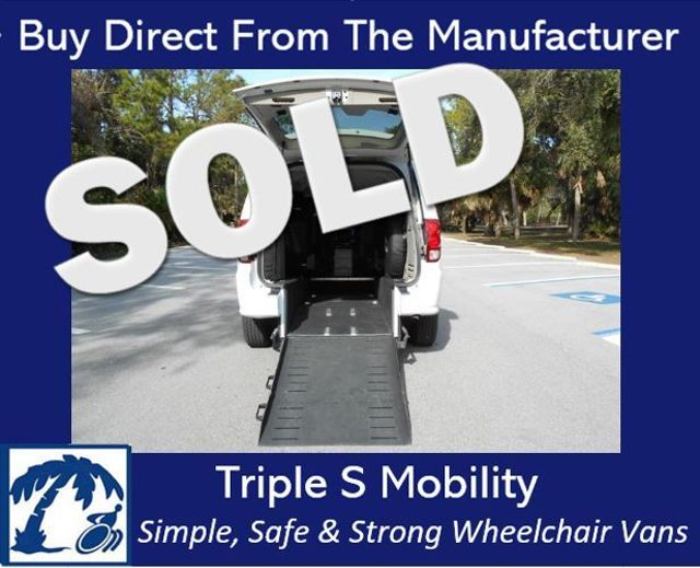 2015 Dodge Grand Caravan Sxt Wheelchair Van Pinellas Park, Florida
