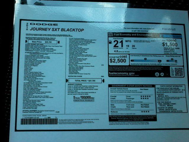 2015 Dodge Journey SXT Boerne, Texas 27