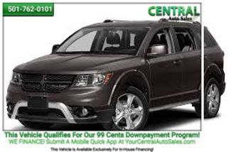 2015 Dodge Journey Crossroad   Hot Springs, AR   Central Auto Sales in Hot Springs AR
