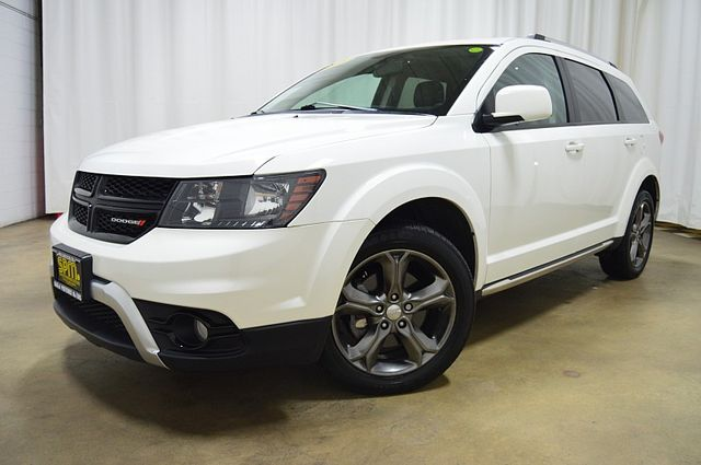 2015 Dodge Journey Crossroad W/3rd Row & Leather