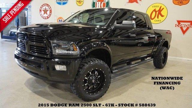 2015 Dodge RAM 2500 SLT 4X4 LIFTED,HTD LTH,FUEL WHLS,67K!