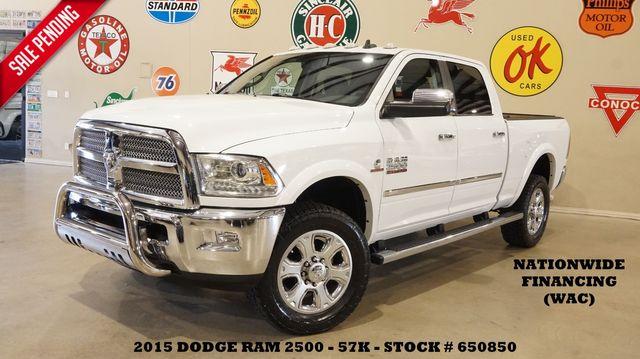 2015 Dodge RAM 2500 Longhorn Limited 4X4 ROOF,NAV,HTD/COOL LTH,57K