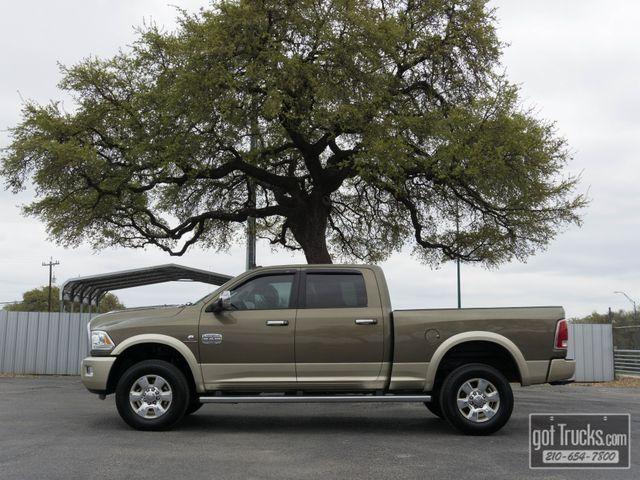 2015 Dodge Ram 2500 Crew Cab Longhorn 6.7L Cummins Turbo Diesel 4X4