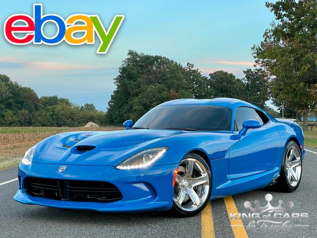 2015 Dodge Viper Srt Coupe ONLY 9K MILES MINT COMPETITION BLUE PEARL in Woodbury, New Jersey 08093