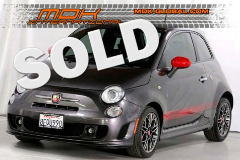 2015 Fiat 500 Abarth - AUTO - AUX - Service records in Los Angeles