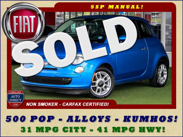 2015 Fiat 500 Pop FWD - 31 MPG CITY - 41 MPG HWY! Mooresville , NC
