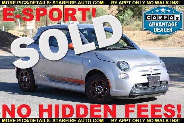 2015 Fiat 500e E-SPORT Santa Clarita, CA 0