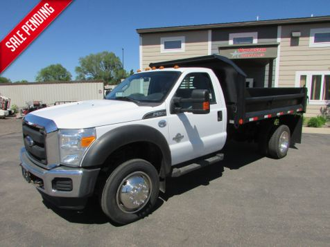 2015 Ford  F-550 4x2  Crysteel 11' Contractor Dump  in St Cloud, MN