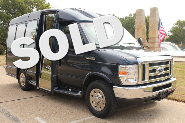 2015 Ford E-350 14 Passenger Turtle Top Van Terra Mini Bus W/ Co-Pilot Seat Irving, Texas