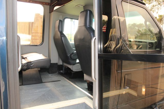 2015 Ford E-350 14 Passenger Turtle Top Van Terra Mini Bus W/ Co-Pilot Seat Irving, Texas 13