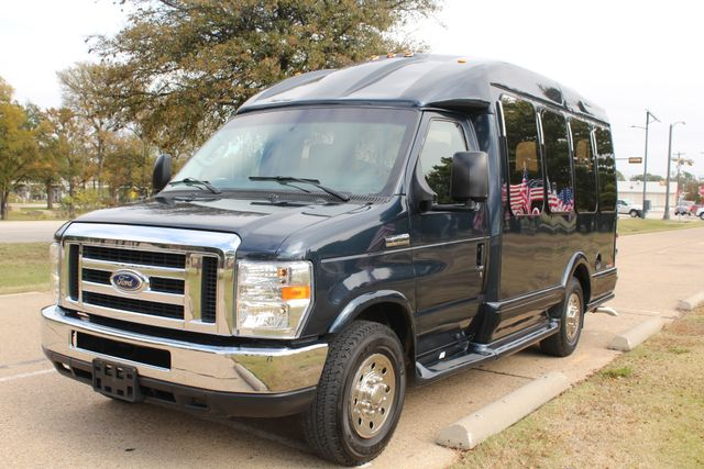 2015 Ford E-350 14 Passenger Turtle Top Van Terra Mini Bus W/ Co-Pilot Seat Irving, Texas 3